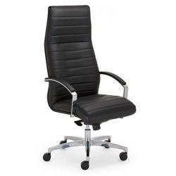 Nowy styl Fotel gabinetowy lynx steel43 chrome - biurowy, krzesło obrotowe, biurowe