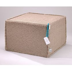 Puf Comfortable Flat Beige by We Love Beds