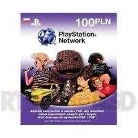 Sony Doładowanie PlayStation Network 100 zł - produkt w magazynie - szybka wysyłka!
