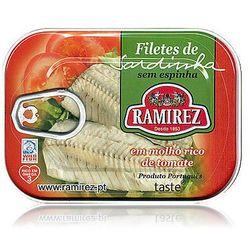 Filety z sardynek portugalskich w kremie z pomidorów Ramirez 100g z kategorii Konserwy i przetwory rybne