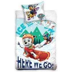 4home Carbotex dziecięca pościel bawełniana psi patrol snowboardziści