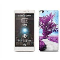 Foto Case - Allview X1 Soul - etui na telefon Foto Case - purpurowe drzewo (Futerał telefoniczny)