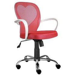 krzesło dziecięce Daisy Czerwony