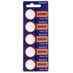 5 x bateria litowa mini  cr2025 wyprodukowany przez Sony