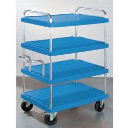 Wózek piętrowy do dużych obciążeń,dł. x szer. 900 x 600 mm, nośność 500 kg