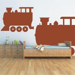 Szablon malarski lokomotywa 1374 marki Wally - piękno dekoracji