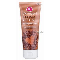 Dermacol - AROMA RITUAL - DELICIOUS HAND CREAM - IRISH COFFEE - Krem do rąk o zapachu IRLANDZKIEJ KAWY - ART.