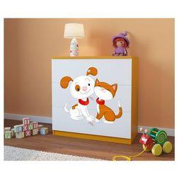 Komoda dziecięca  babydreams piesek i kotek kolory negocjuj cenę wyprodukowany przez Kocot-meble
