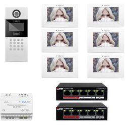 Wideodomofon IP 6-rodzinny VidiLine C5-IP