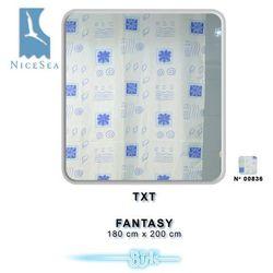 Zasłonka łazienkowa txt 180x200 fantasy marki Bisk