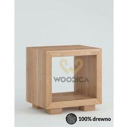 Szafka nocna dębowa cerasus 02 marki Woodica