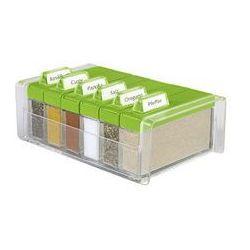 Pudełko na przyprawy + 6 pojemników Spice Box (zielone) Emsa