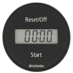 Brabantia - timer elektroniczny z magnesem szary (8710755121968)
