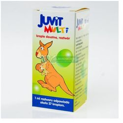 Juvit Multi krople 10 ml - oferta [053b217057615251]