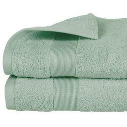 Atmosphera Ręcznik łazienkowy stworzony z bawełny w kolorze zielonym