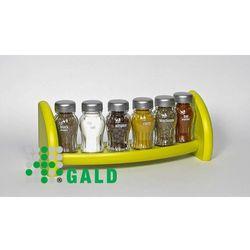 Gald  półka z przyprawami 6-el zielony mat 5904006098823