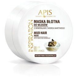 APIS INSPIRATION maska błotna do pielęgnacji włosów z minerałami z Morza Martwego, 200 ml