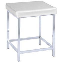 Krzesło DELUXE SQUARE WHITE, uniwersalny taboret, WENKO (4008838199435)