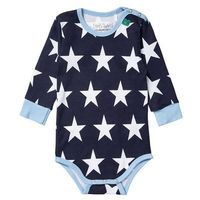 Fred's World by GREEN COTTON Body blue z kategorii body niemowlęce