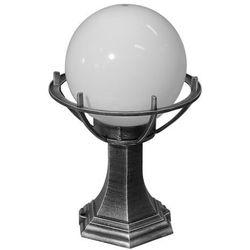 Lampa - kula z koszykiem stojąca ogrodowa (39cm) - 200 K 4011/1/KPO, K 4011/1/KPO