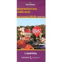 Województwo lubelskie mapa turystyczna 1:300 000