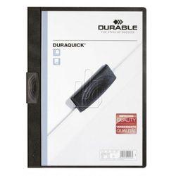 Skoroszyt zaciskowy Durable Duraquick 10 szt. czarny 227401