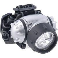 Latarka czołowa LED Energizer, 7 diody, 38962, srebrna, 38692
