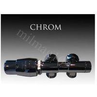 Zestaw zaworów grzejnikowych termostatycznych TWINS lewy CHROM