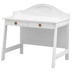 PAROLE białe biurko toaletka - brązowy ||biały - sprawdź w wybranym sklepie