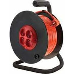 Przedłużacz bębnowy 4GN 50m 3x1,5mm (PZB-1-50) 5902694040506 - Kobi Light - Rabat w koszyku