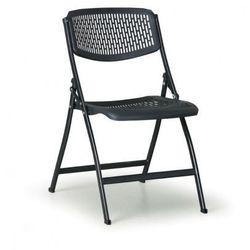 Krzesło składane CLICK, czarne