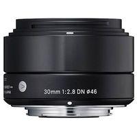 Obiektyw SIGMA A 30/2.8 DN Sony-E Czarny + DARMOWY TRANSPORT!