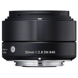 Obiektyw SIGMA A 30/2.8 DN Sony-E Czarny + DARMOWY TRANSPORT! z kategorii obiektywy fotograficzne