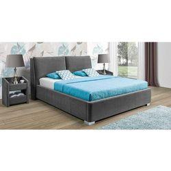 Łóżko tapicerowane monaco z pojemnikiem na pościel 160x200 1 grupa z pojemnikiem marki New elegance