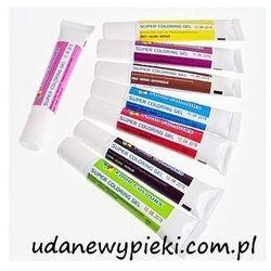 Food colours Barwnik spożywczy w żelu - kolory - 20g
