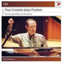 Paul Crossley Plays Poulenc: Complete Music For Solo Piano (CD) - Crossley Paul