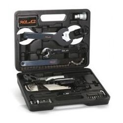 XLC TO-S61 walizka serwisowa narzędzia rowerowe 33 elementy, 2503616200