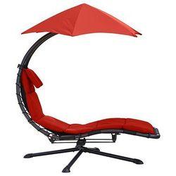 Fotel hamakowy, Czerwony DRM360