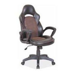 Signal meble Fotel q-115 brązowo-czarny - zadzwoń i złap rabat do -10%! telefon: 601-892-200