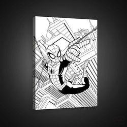 Obraz spiderman - marvel pkd1790o4 marki Consalnet