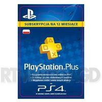 Sony  subskrypcja playstation plus 12 m-ce [kod aktywacyjny] (0000006200031)