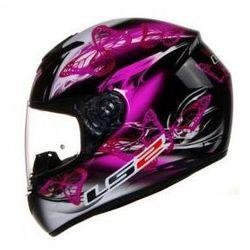 KASK LS2 FF352 FLUTTER BLACK DAMSKI XS, S, M (kask motocyklowy)