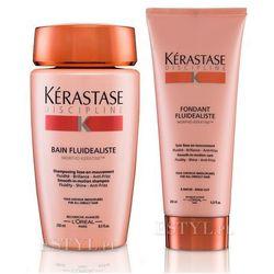 fluidealiste - zestaw dyscyplinujący włosy: szampon + odżywka 250+200 ml, marki Kerastase