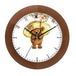 Zegar drewniany solid kapelusznik marki Atrix