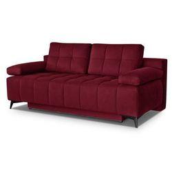 """Sofa """"ORLANDO"""" rozkładana - czerwony, kolor czerwony"""