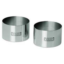 Kaiser piccantini foremki do formowania potraw, deserów 8 cm zestaw 2 sztuk marki Kaiser / patisserie