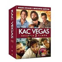 Dvd 2 pack kac vegas/kac vegas 2- imprezowy pakiet z gadżetami  7321910311455 marki Galapagos films