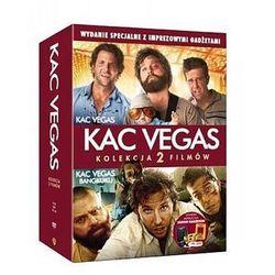 Dvd 2 pack kac vegas/kac vegas 2- imprezowy pakiet z gadżetami  7321910311455, marki Galapagos films