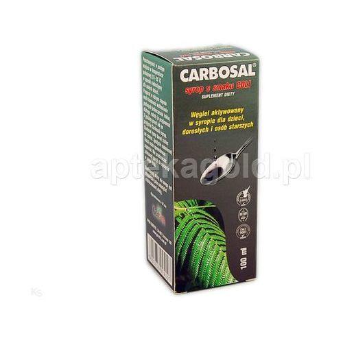 Carbosal syrop 100 g (carbo activ.), postać leku: syrop