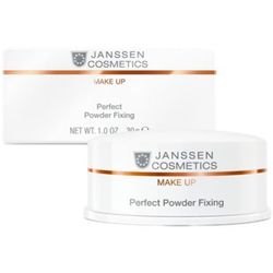 Janssen Cosmetics PERFECT POWDER FIXING Utrwalający puder transparentny (C-841) z kategorii Pudry
